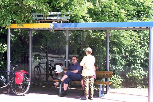 Lindstedt, Buswartehäuschen