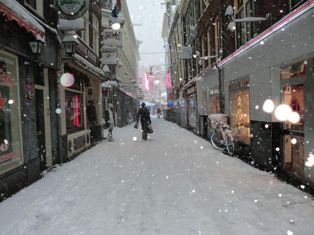 Zee(snow)dijk
