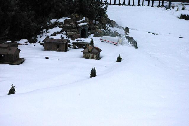 Fahrtag 24.2. im Schnee
