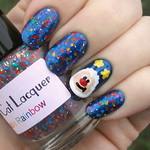 Rainbow Brite Sprite Nails