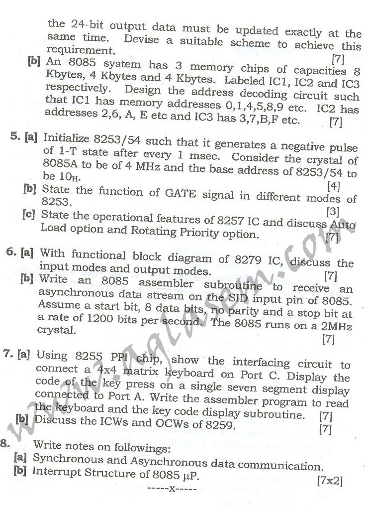 NSIT: Question Papers 2010 – 2 Semester - End Sem - EC-COE-ICE-311