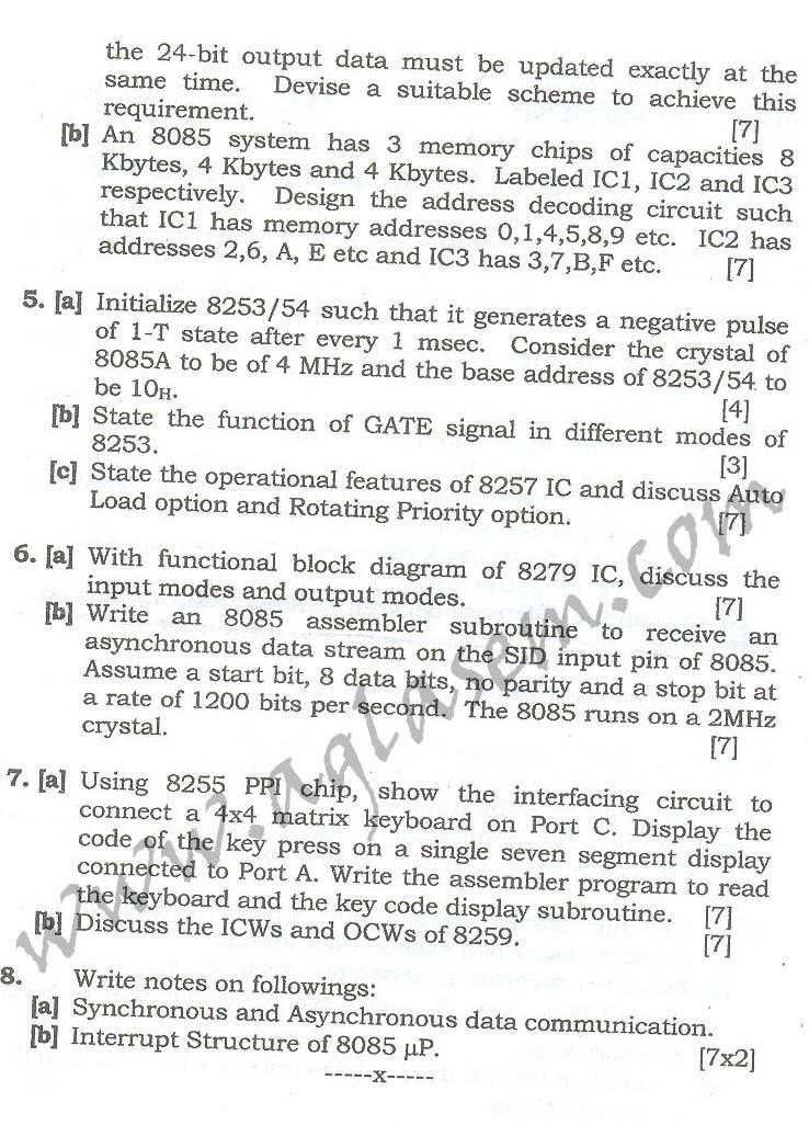 NSIT: Question Papers 2010 – 2 Semester - End Sem - EC-COE-ICE-311