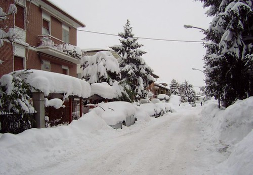 Forlì nevicata 2012!! by meteomike