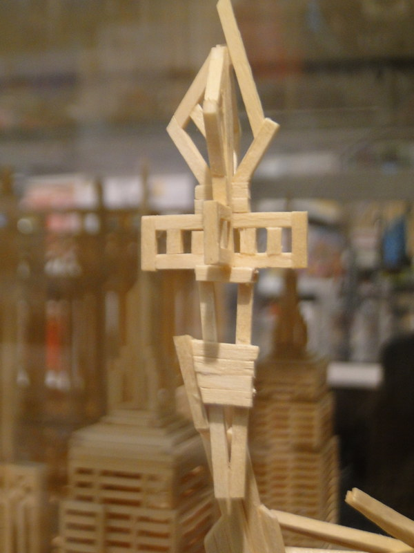 Matchitecture Building Set.  Statue of Liberty FAO Schwarz 5th Avenue 8 26fb13_431