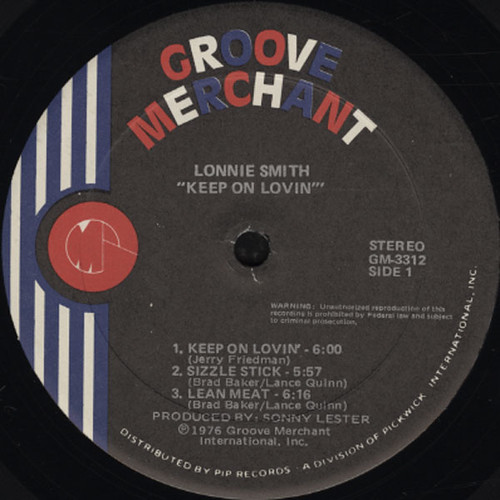 Lonnie Smith Keep On Lovin_2