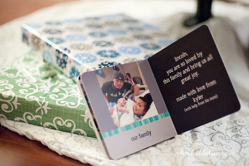 custom diy baby board book via pintsizeproductions.com
