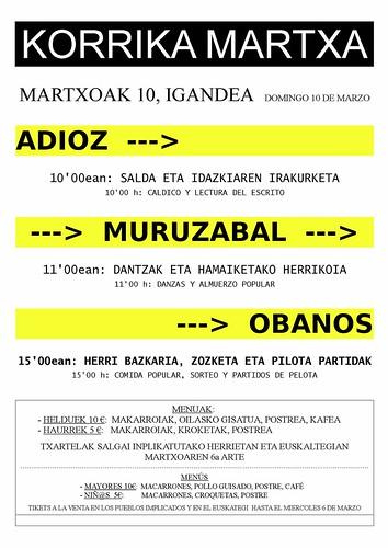 Martxa Adioz-Muruzabal-Obanos