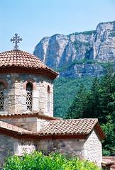 Eglise Saint-Silouane du monastère orthodoxe Saint Antoine le Grand (Drôme)