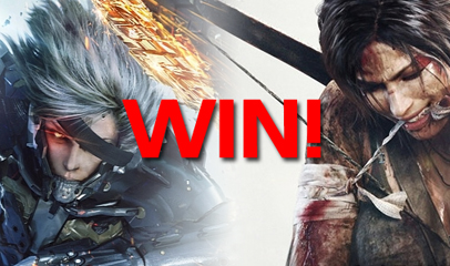 Win Tomb Raider and Metal Gear Rising: Revengence!