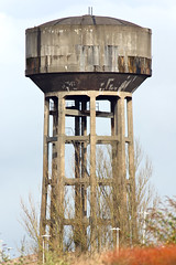 water tower, architecture,
