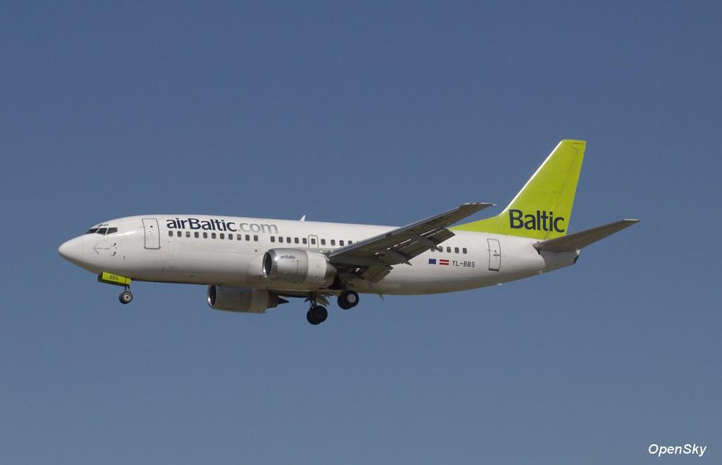 Air Baltic Boeing 737-31S YL-BBS (cn 29267)