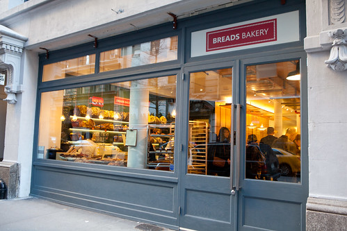 Entrance to Breads Bakery