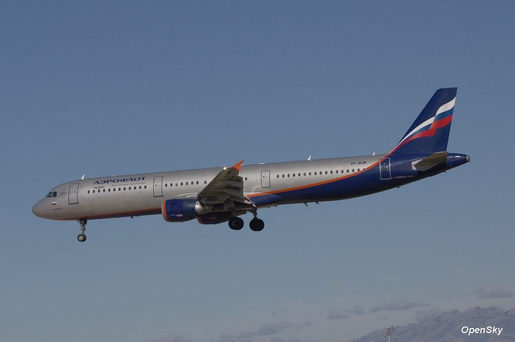 Aeroflot - Russian Airlines Airbus A321-211 VP-BUM (cn 3267)