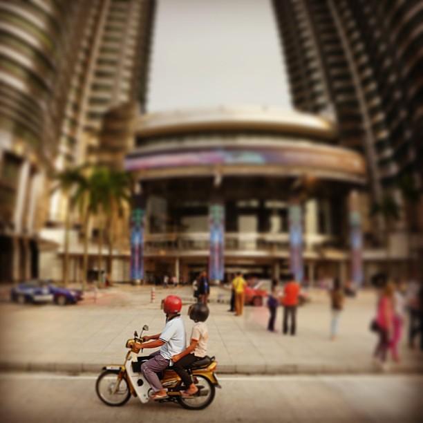 The #Petronas Twin Towers, #KL, Malaysia.