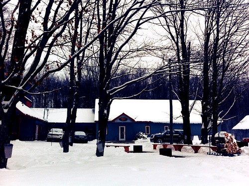 cabane Sheffod de Laurent Godbout