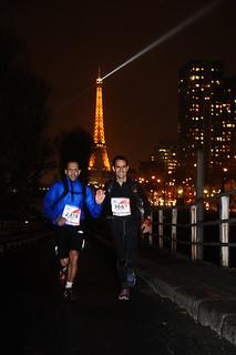 Τερματισμός στον EcoTrail des Paris με τον Παντελή Καμπαξή