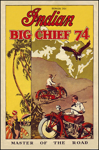 "1928 Indian Big Chief 74"" by bullittmcqueen"