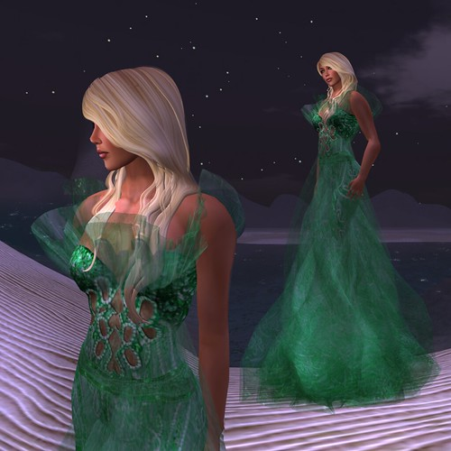 Paris METRO Couture_ The Madien Emerald