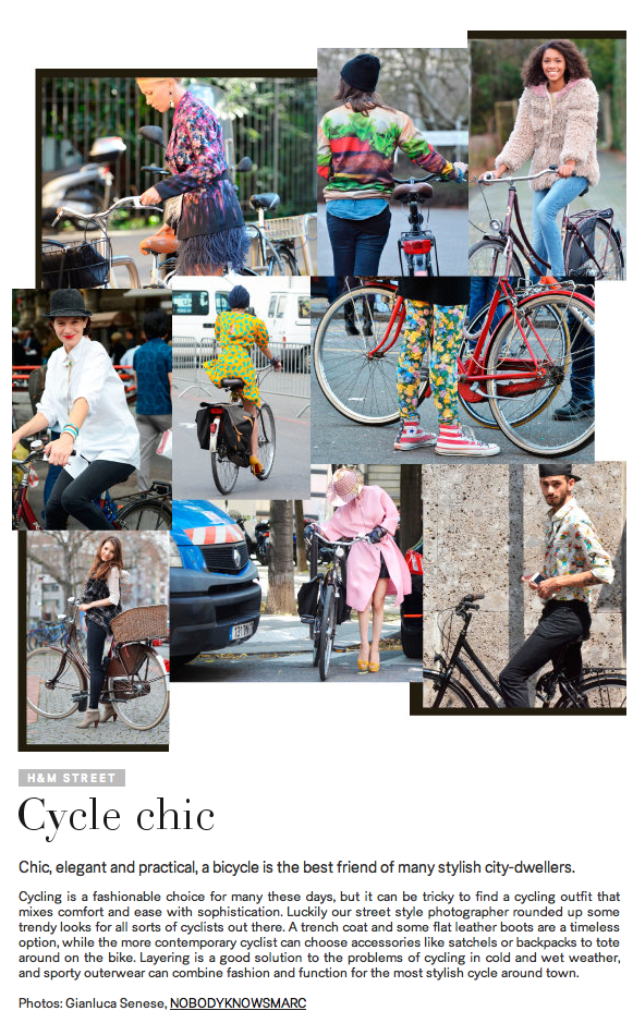 Cycle Chic H&M
