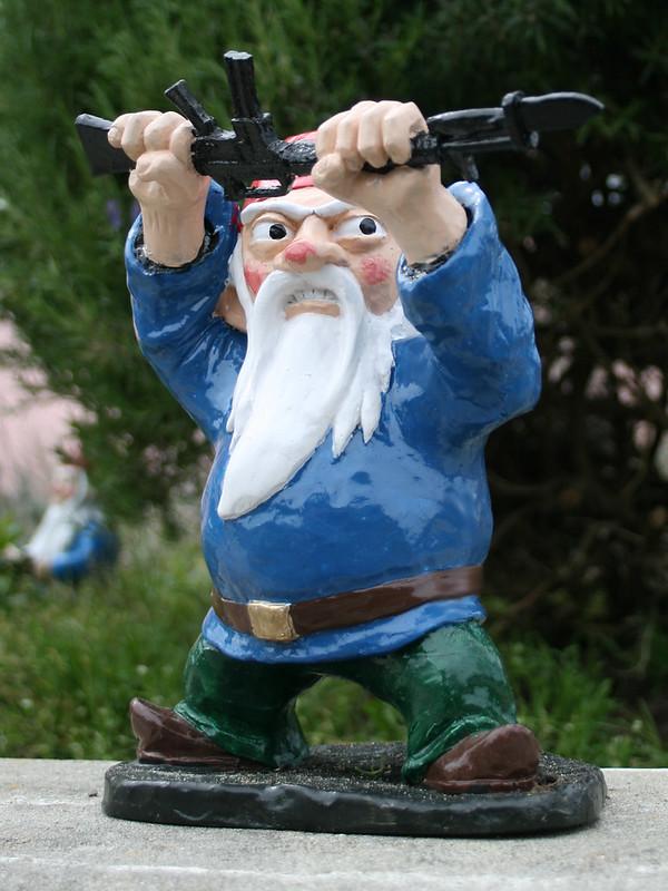 Bayonet Gnome Front