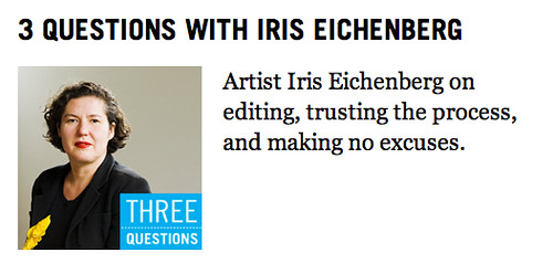 Interview with iris eichenberg