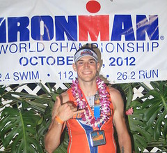 Finisher Pic for 2012 Ironman World Championships