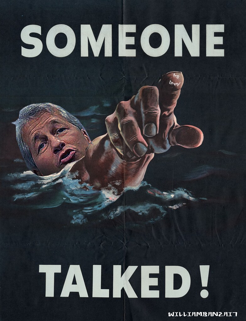SOMEONE TALKED