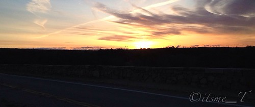 Photo of the Day #POTD March 16, 2013 Panoramic Sunrise by its me _T via I {heart} Rhody