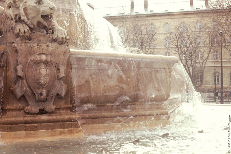 The Fountain at Place Saint Sulpice by Carin Olsson (Paris in Four Months)