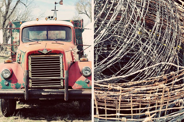 truck // fencing