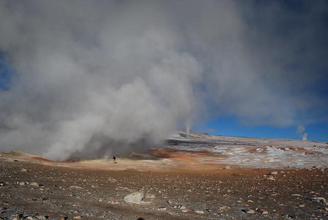 Geysers, Uyuni, Bolivia