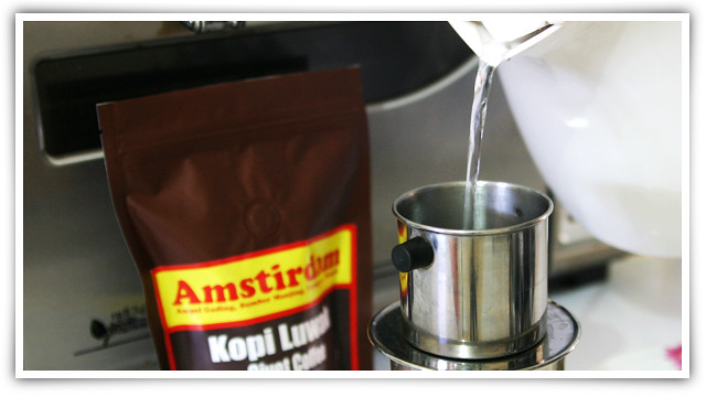 Classic Coffee Drip, Brew Kopi Luwak Coffee