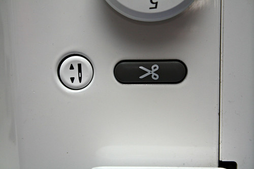Needle up/down button - so necessary!