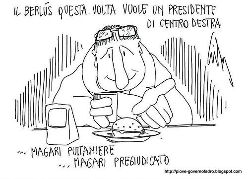 Il Berlùs vuole un presidente di centrodestra by Livio Bonino