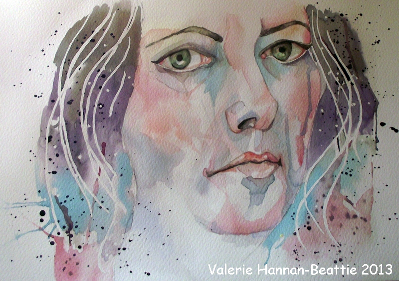 22nd March 2013 - Self In Watercolour