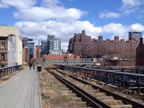 High Line Park and Gruner Veltliner