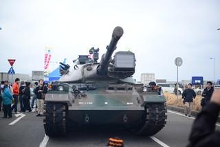 74式戦車@大洗。