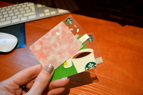 Starbucks Card - polish and japanese