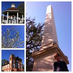 Buildings & blooms in historic Marianna, FL #homeschool #civilwarmonument #AdventureZ