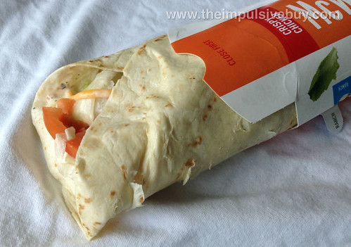McDonald's Crispy Chicken & Ranch Premium McWrap Closeup