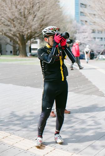Cycling Cameraman