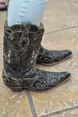 brown, footwear, shoe, cowboy boot, limb, leg, boot,