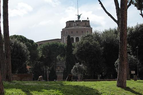 Castel Sant'Angelo: i giardini