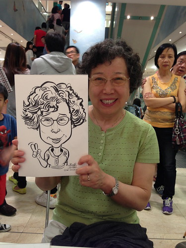 caricature live sketching for Takashimaya Good Friday Special - 19