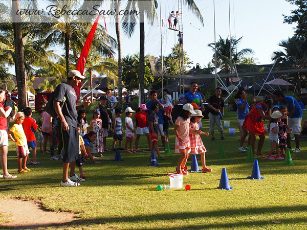 kids friendly Club Med Bali - rebecca saw