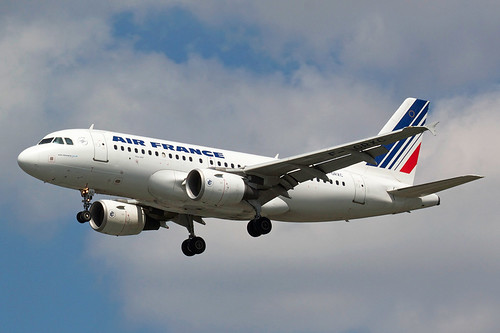 AIR FRANCE AIRBUS A319-111 F-GRXC