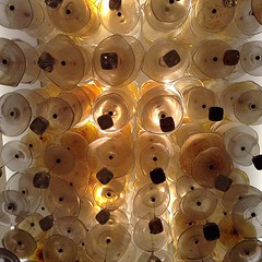 Awesome light fixture at Hyatt Regency on the San Antonio Riverwalk.