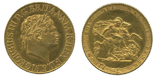 1819 George III Sovereign