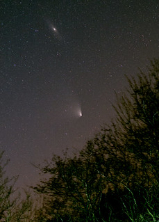 Comet-Panstarrs-and-M31