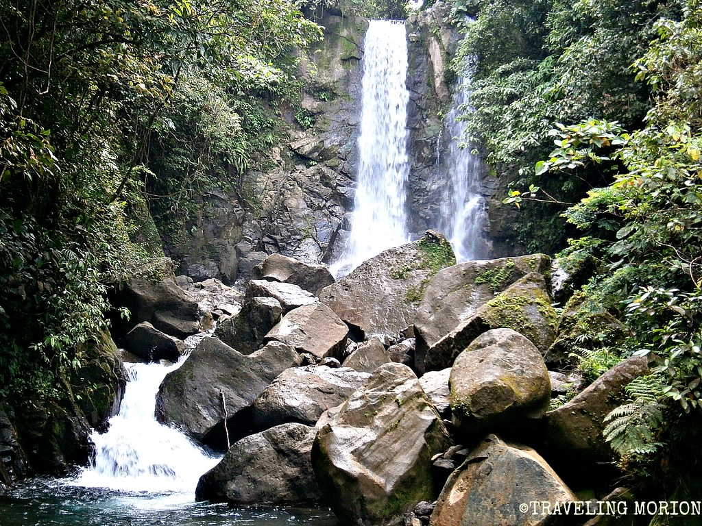 Lumondo Falls in Alegria, Surigao del Norte PHILIPPINES